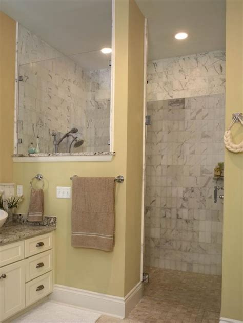 Walk In Shower Designs For Small Bathrooms by Bathroom Ideas Of Doorless Walk In Shower For Small