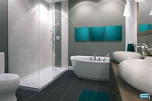 salle de bain avec douche en ceramique tinapafreezonecom With salle de bain design avec lavabo ceramique