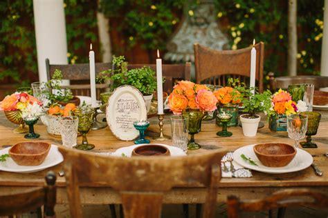 Summer Backyard Wedding Dinner Party Inspiration