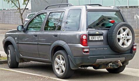 2004 land rover freelander information and photos momentcar
