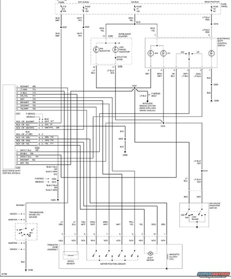 Wiring Diagram For System Ford Bronco Forum