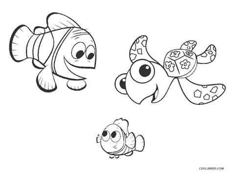 printable nemo coloring pages  kids coolbkids