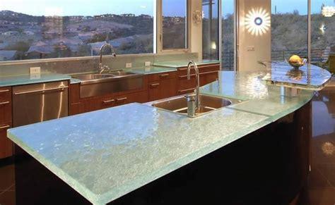 gorgeous glass kitchen countertops