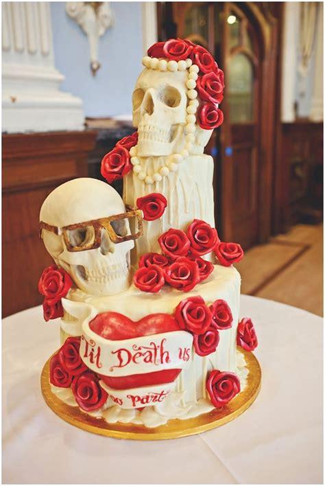 images  wedding cakes  pinterest skull