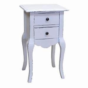 Beistelltisch Weiß Vintage : kleiner beistelltisch wei im romantischen landhausstil ~ A.2002-acura-tl-radio.info Haus und Dekorationen