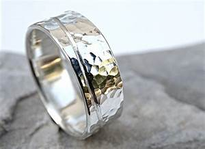wave ring silver beach mens engagement ring unique mens With men s wave wedding ring