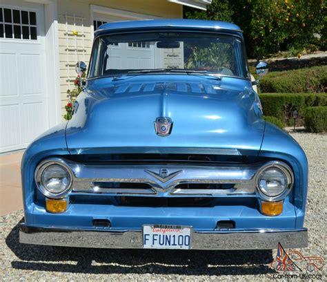 1956 Ford F100 Mild Rod Pickup 350 / 350 Volare Suspension