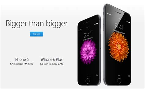 where to get the iphone 6 and 6 plus and how much it will cost you in malaysia