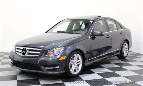 Request a dealer quote or view used cars at msn autos. 2013 Used Mercedes-Benz C-Class CERTIFIED C300 4Matic ...