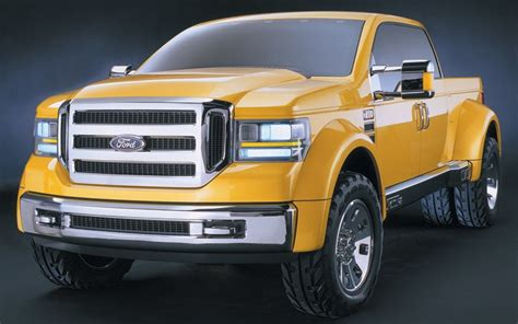 the ford f 350 concept truck that showcased the direction for ford mighty tonka truck concept