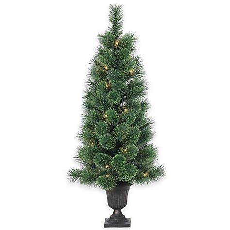 buy deluxe cashmere pine 3 1 2 foot pre lit potted