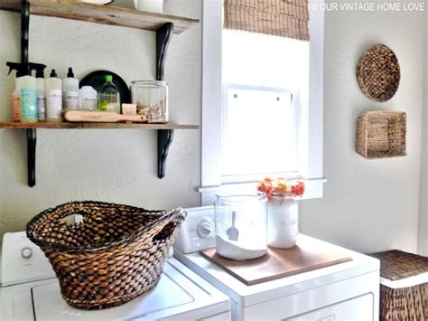 Home Decor Ideas On A Budget Blog: 10 Chic Laundry Room Decorating Ideas