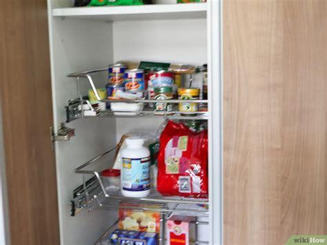 kitchen food storage pantry eine speisekammer auff 252 llen wikihow 4890