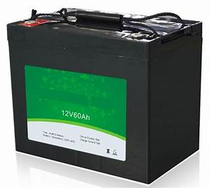 Lithium Battery Pack 768w 12v 60ah Ev Lifepo4