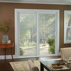 Sliding Door With Blinds In The Glass by Window Treatments For Sliding Glass Doors Ideas Tips