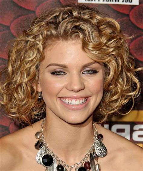 short hairstyles   faces  extreme curly