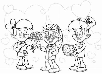Rice Coloring Snap Pop Crackle Krispies Characters