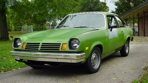 aint easy bein green  chevrolet vega
