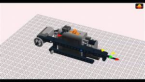 Lego Technic Small Suspended Tank Chassis Building