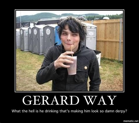 Gerard Way Memes - gerard way derpy by ladycerebellum on deviantart