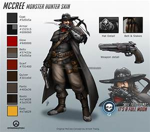 McCree Monster Hunter Skin Overwatch Know Your Meme