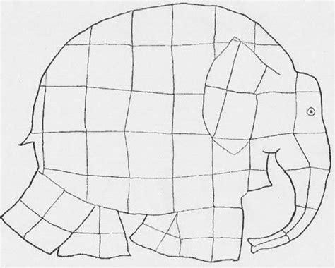 Elmer The Elephant Template by Elmer Template World S Greatest