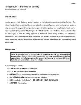business letter assignment grade   delinedesigns tpt