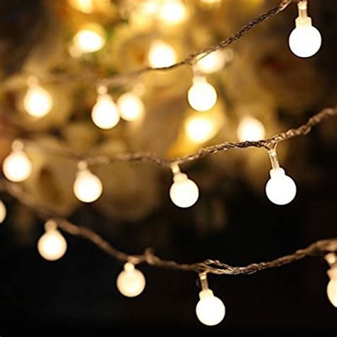 100 led indoor string lights warm white blingby