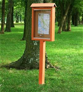 single pedestal outdoor notice board message centers With outdoor letter boards with posts