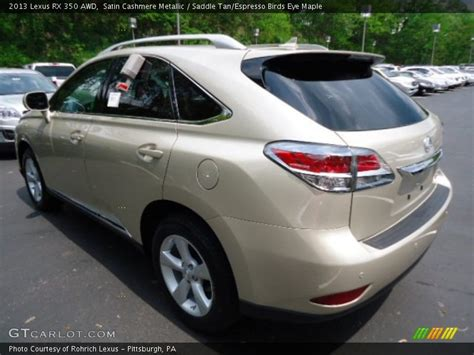 lexus satin cashmere metallic 2013 lexus rx 350 awd in satin cashmere metallic photo no