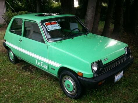 For Sale Usa by S 1978 Renault 5 Gtl Bring A Trailer