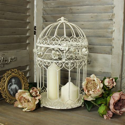 large metal decorative bird cage candle holder melody maison 174