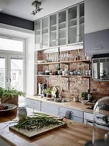 Exposed, Brick, In, Interior, Design