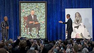 Barack and Michelle Obama Portraits Unveiled at ...