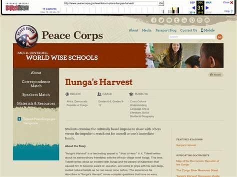 Ilunga's Harvest Lesson Lesson Plan For 6th