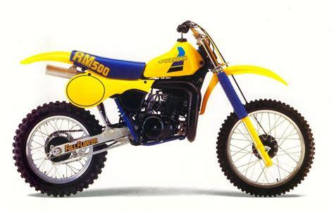 1984 Suzuki Rm500 Full Floater Dirt Bike