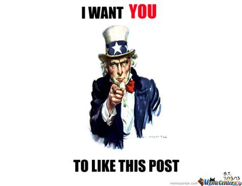 Uncle Sam Meme - uncle sam want you by starlit8910 meme center