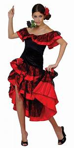 spanish senorita flamenco costume all ladies costumes With robe espagnol