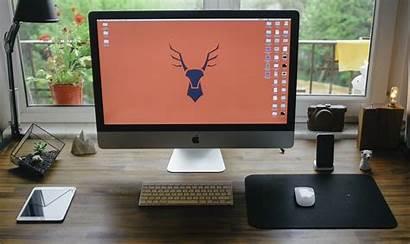 Computer Office Desktop Screen Desk Table Iphone
