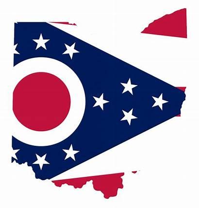 Ohio Flag Map Wikimedia Commons Dowdell Conrad