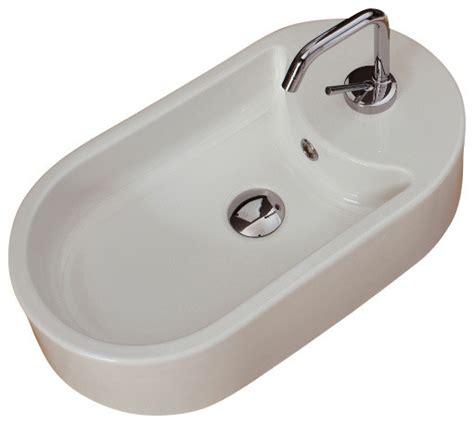 white oval vessel sink oval shaped white ceramic vessel sink one hole