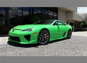 Lightly Used Neon Green 2012 Lexus LFA For Sale Update