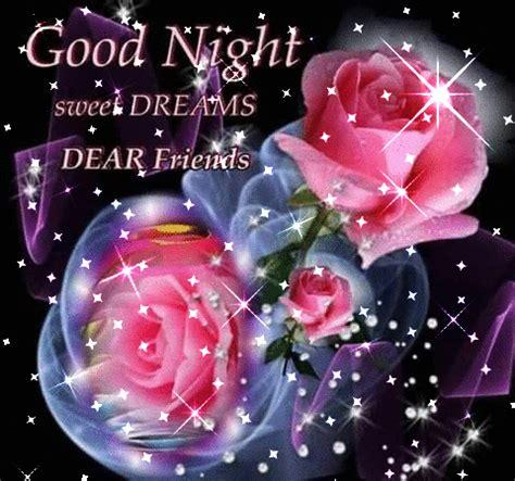 good night rose gifs