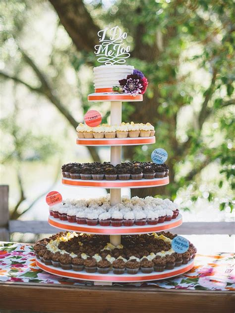 wedding cake ideas  cupcakes