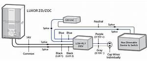 Luxor Cube And Relay Wiring Diagrams