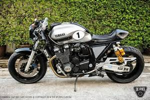 Yamaha XJR1300 Cafe Racer - Grease n Gas