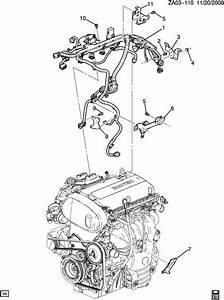 Saturn Astra Wiring Harness  Engine Ecm