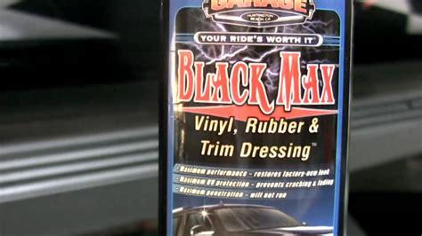 Surf City Garage Black Max by Surf City Garage Black Max Vinyl Rubber Trim Dressing