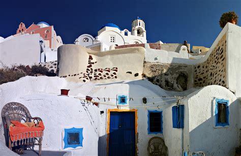 Filestreets Of Firostefani Santorini Island Thira