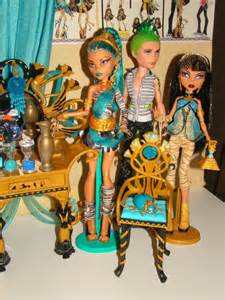 Monster High Cleo and Deuce